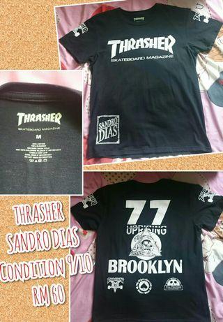 THRASHER SK8 T-SHIRT