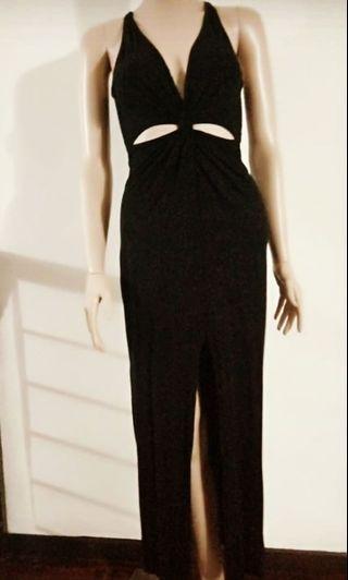 LBD Long Black dress