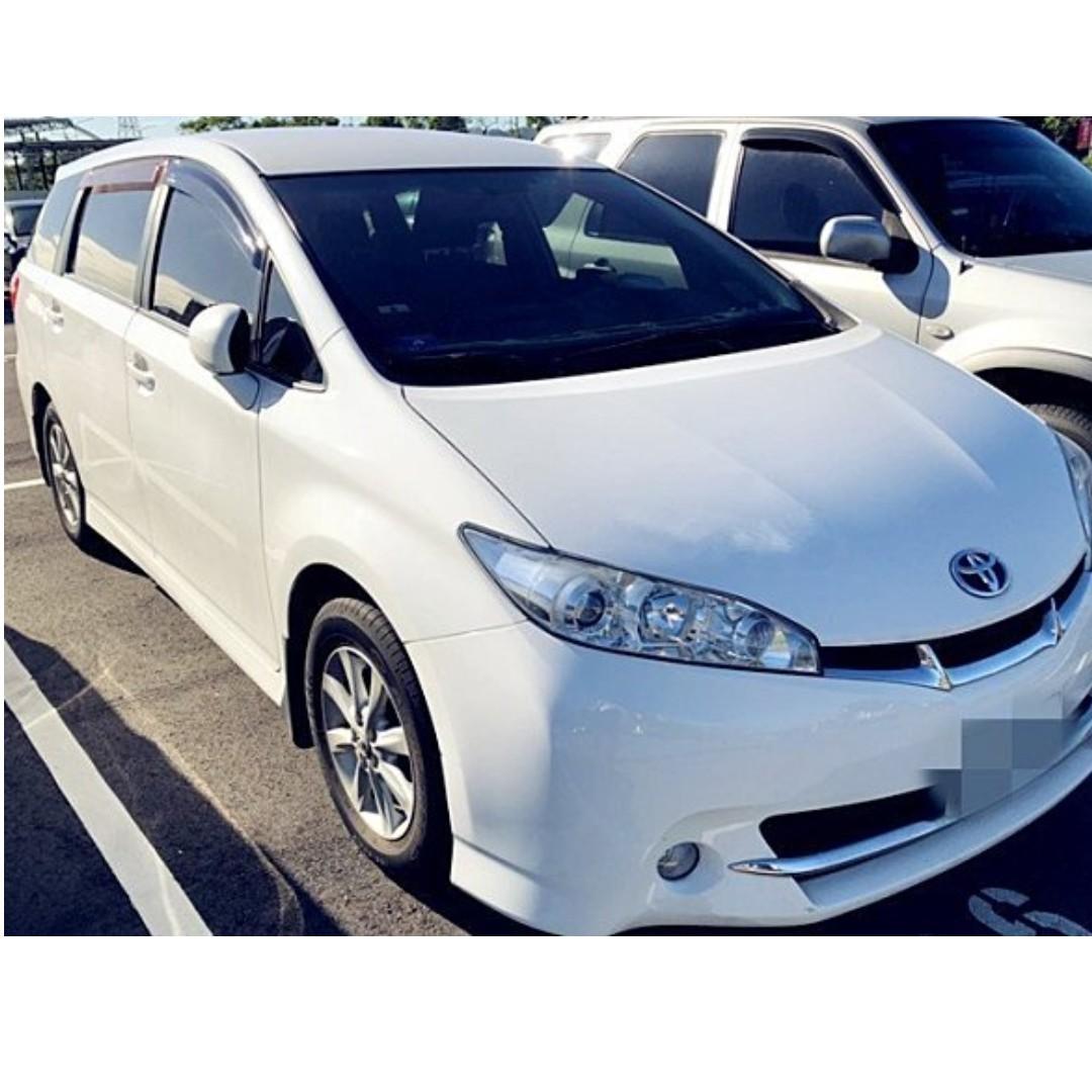 2011年 Toyota/豐田 Wish 2.0家庭7人款,非代標,歡迎諮詢