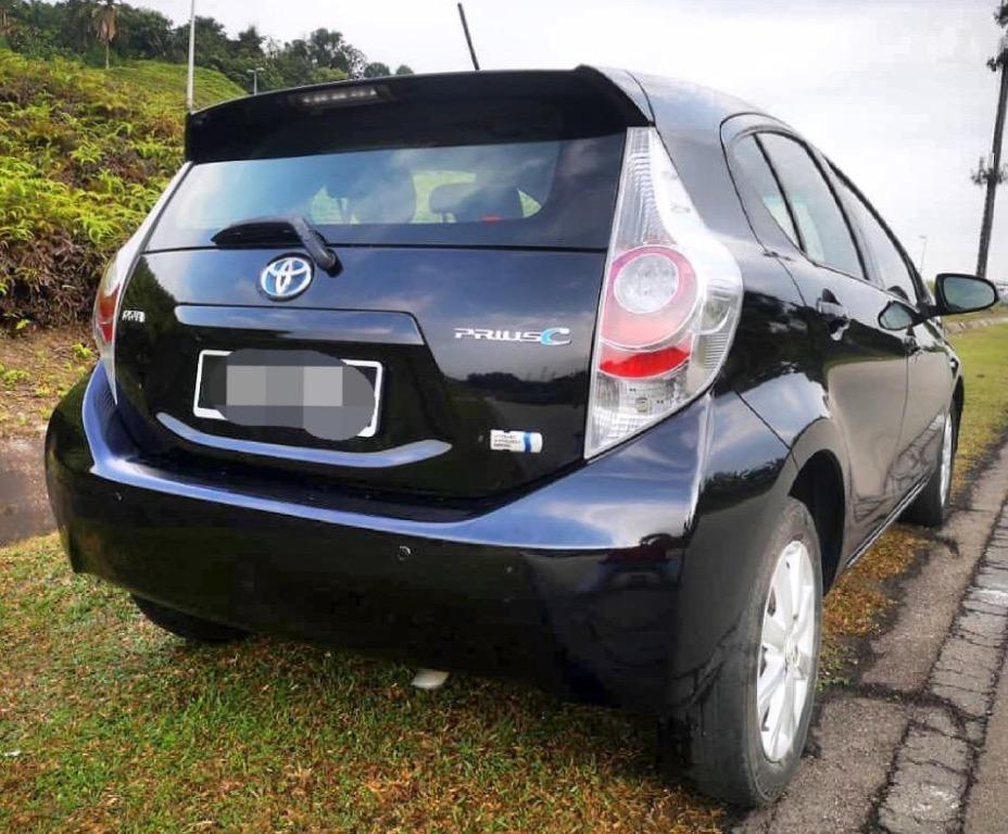 2012 Toyota PRIUS C 1.5 (HYBRID) (A) B/L LOAN KEDAI DP 3K
