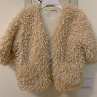 👧小女鵝の毛毛外套100cm