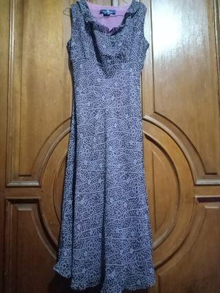 Mididress purple