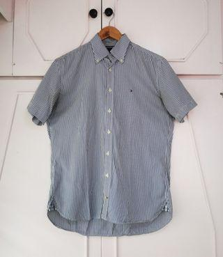 Authentic Tommy Hilfiget Short Sleeve Button Doen Shirt