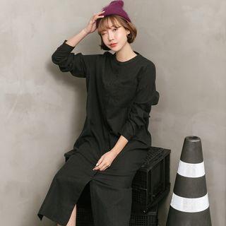 韓版 空運 氣質長裙 黑色/棕色 非現貨(下單後10~15天到貨)
