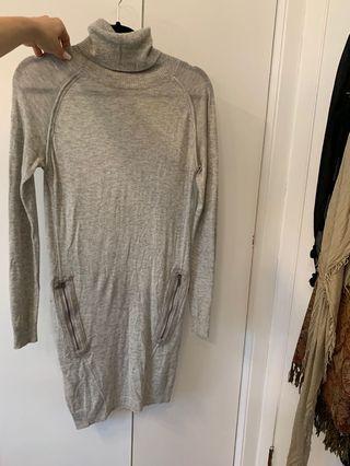 DIESEL thin sweater dress (small)