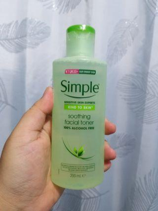 Simple Soothing Toner NEW