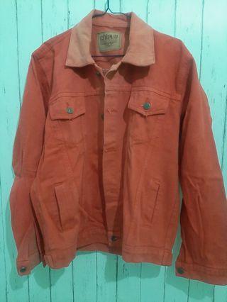Jacket levis merah