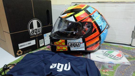 Helm AGV K3 SV Elements Rossi 46 not misano via mugello mir tartaruga