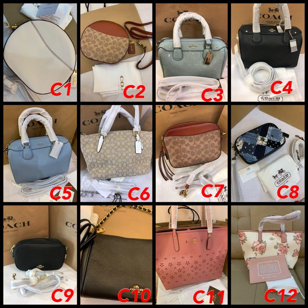 (29/09/19)Ready Stock Authentic Tory Burch women bag listing bag Marc Jacobs sling Kate spade wallet wristlet clutch yhn