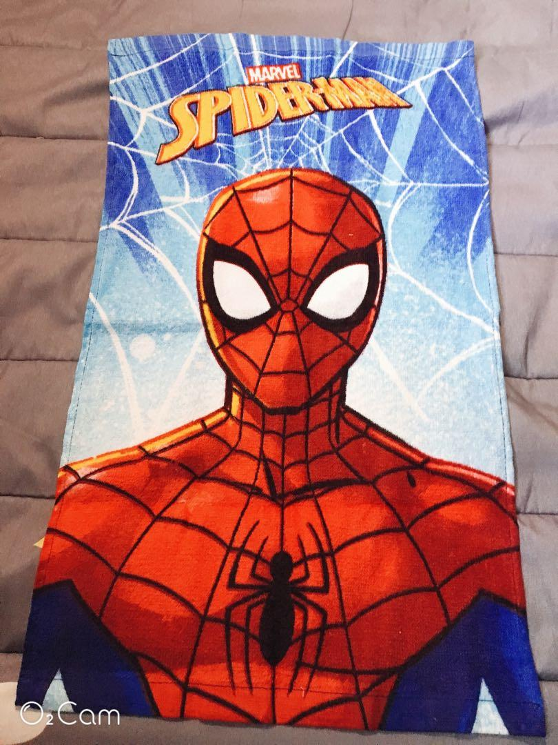 ❤️蜘蛛人兒童毛巾❤️
