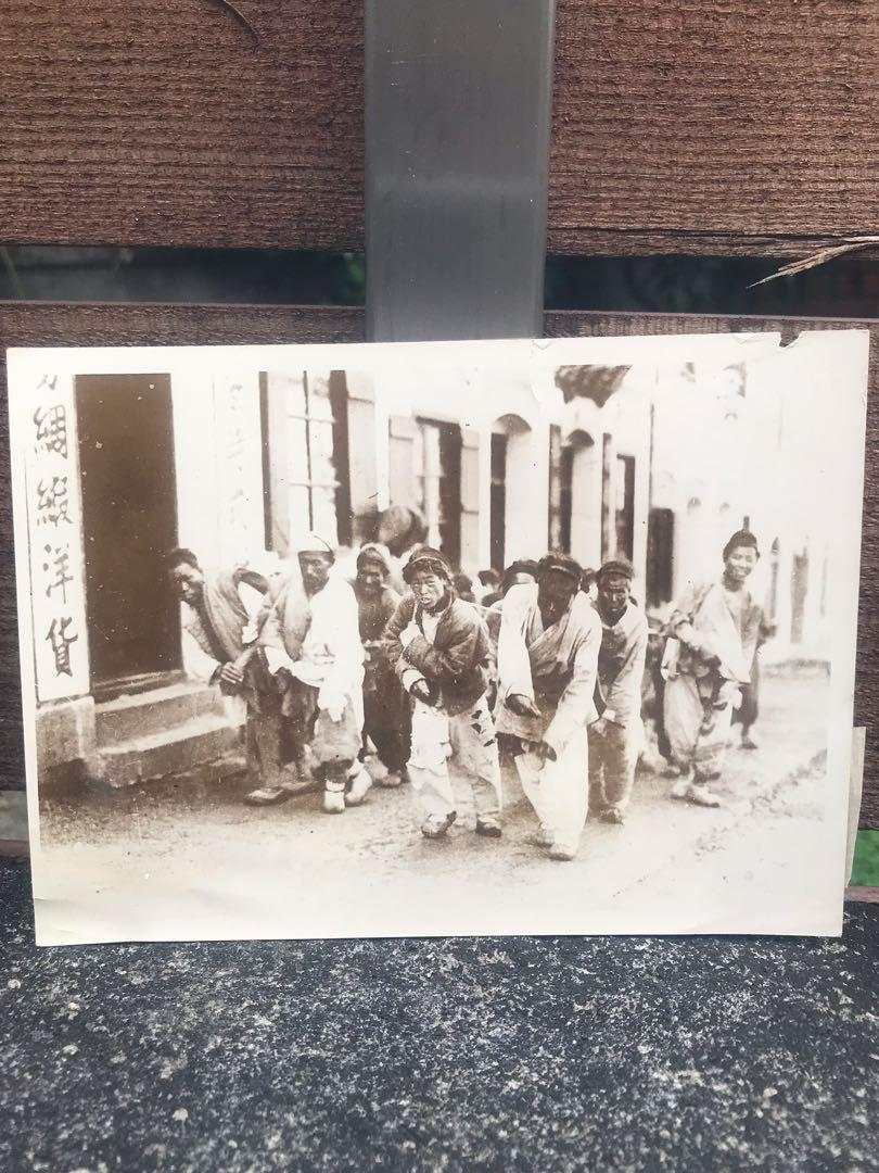 珍藏!稀有!🇫🇷法國帶回清末民初老照片 古董 收藏 相片