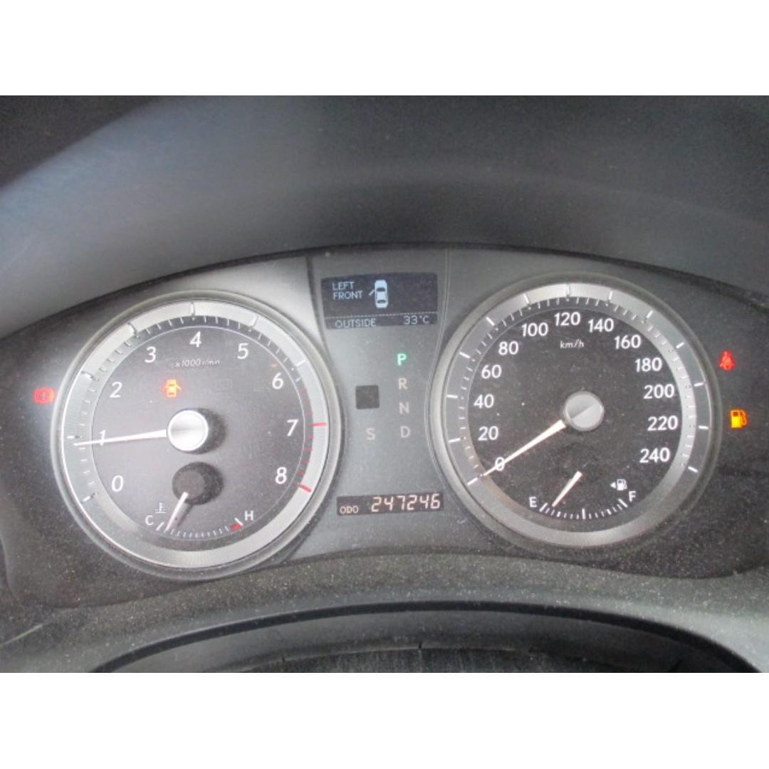 2006年 LEXUS ES350 銀色 3500 CC 非泡水 非營業  非調表 非接合