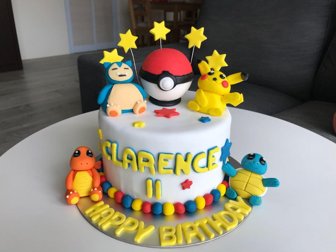 Miraculous Pokemon Birthday Cake Food Drinks Baked Goods On Carousell Funny Birthday Cards Online Inifofree Goldxyz