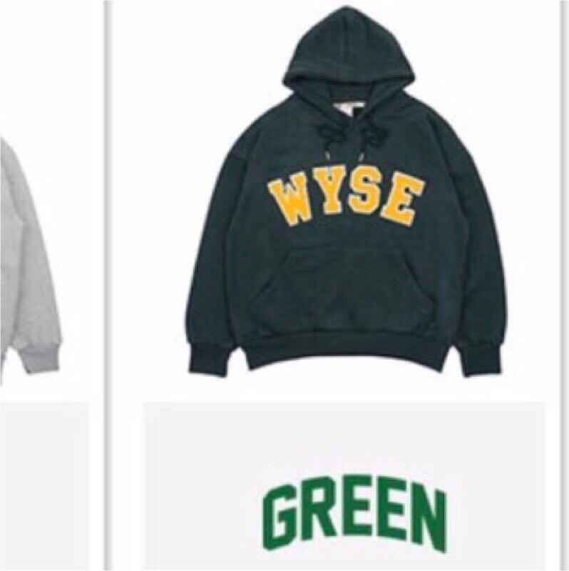 韓國代購購入🇰🇷 WYSE大學帽t-green 💚