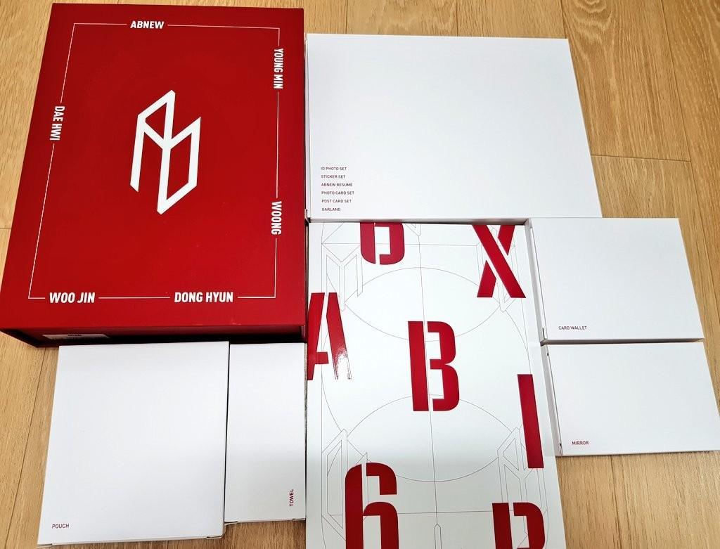 AB6IX Official Fanclub Membership Kit