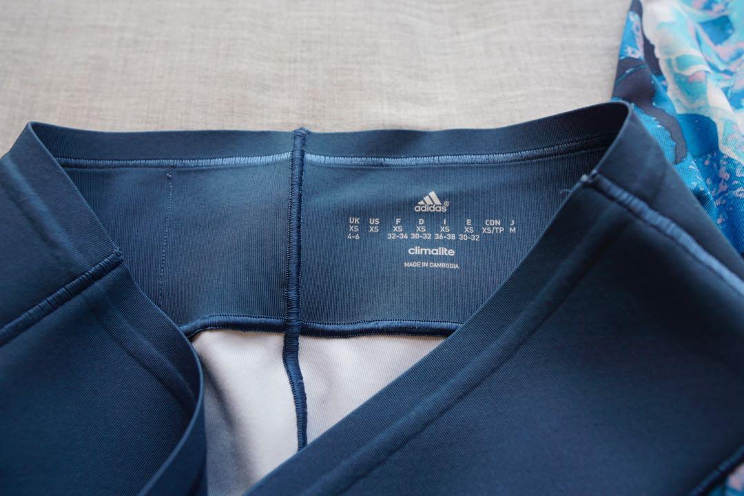 Adidas Trefoil climacool leggings XS