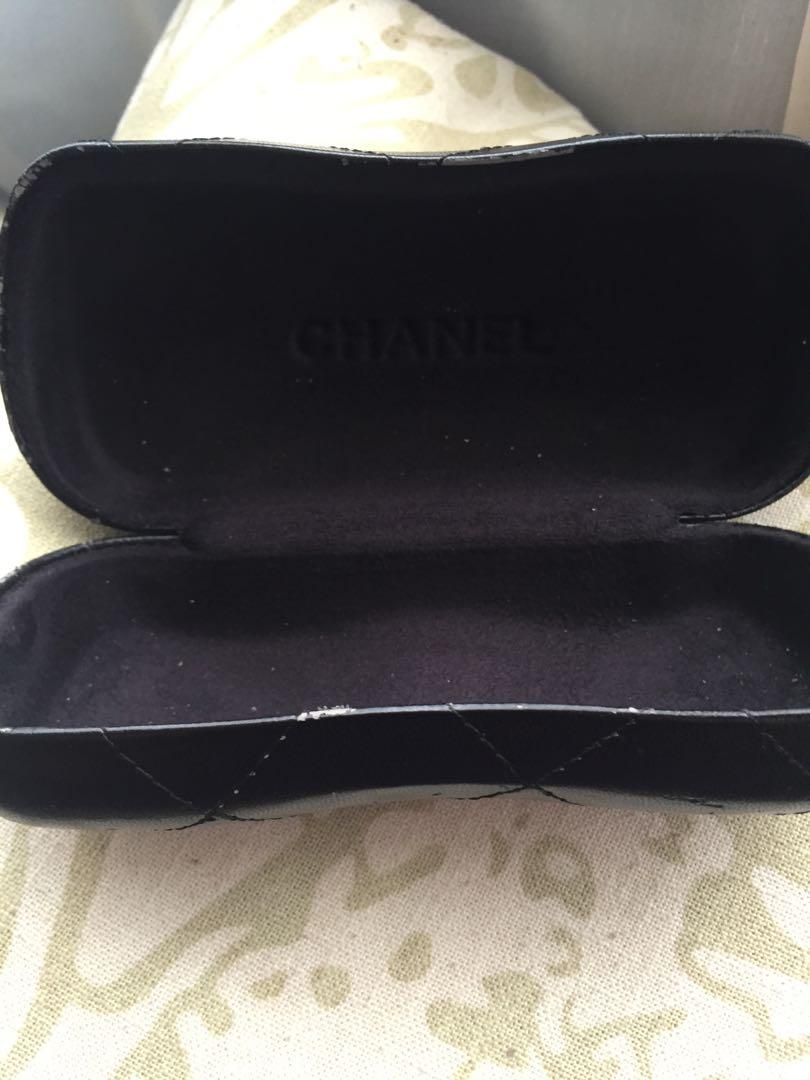 Authentic Chanel glases case