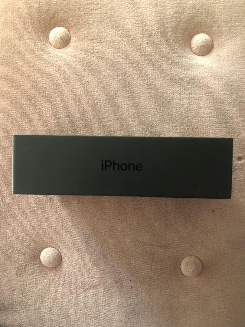Black iPhone 7 Plus BOX ONLY
