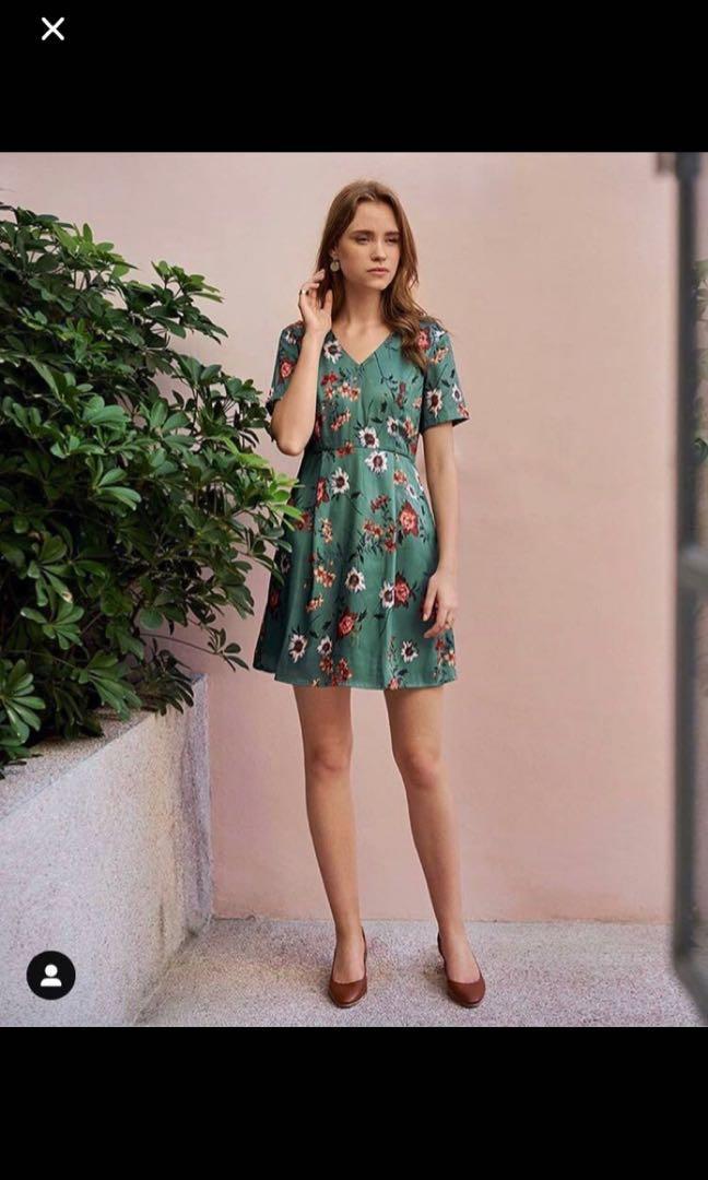 BNWT Glynnis Floral Printed Dress