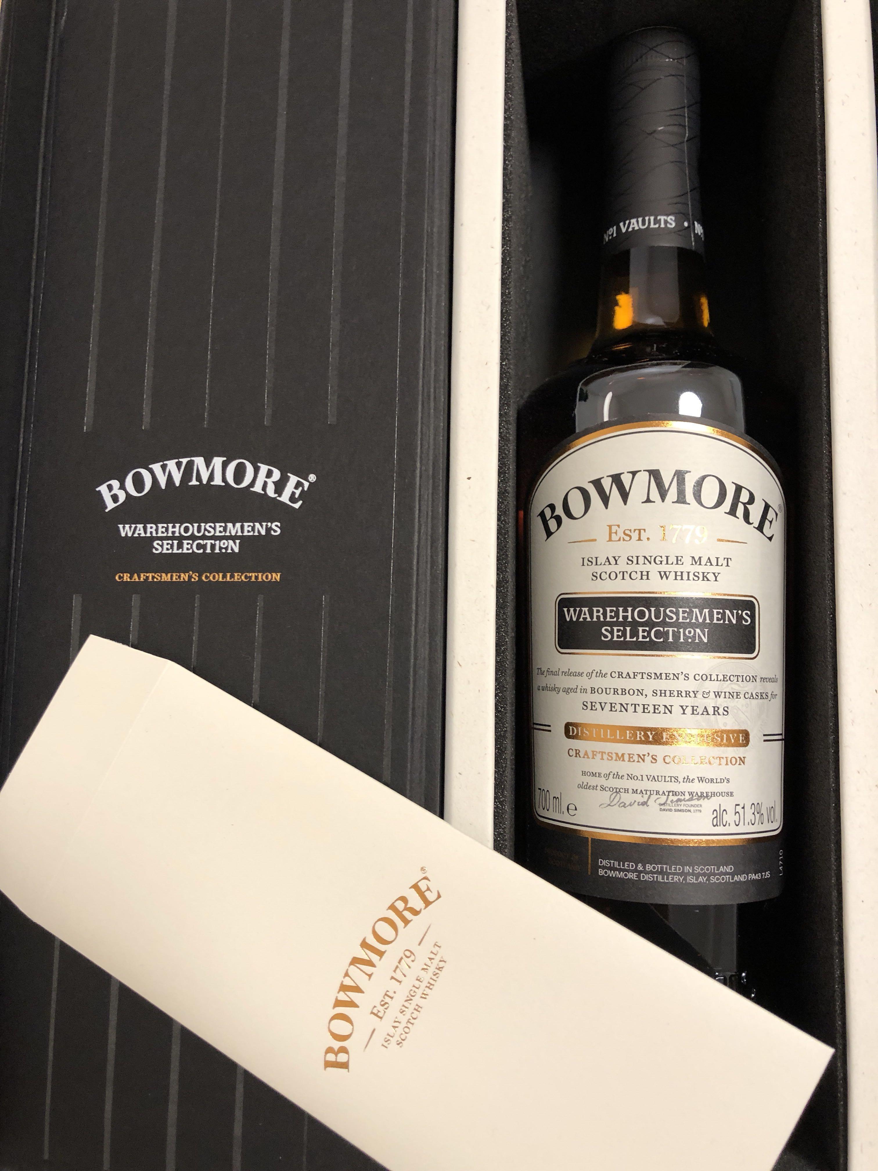 Bowmore warehouseman's Selection 1999