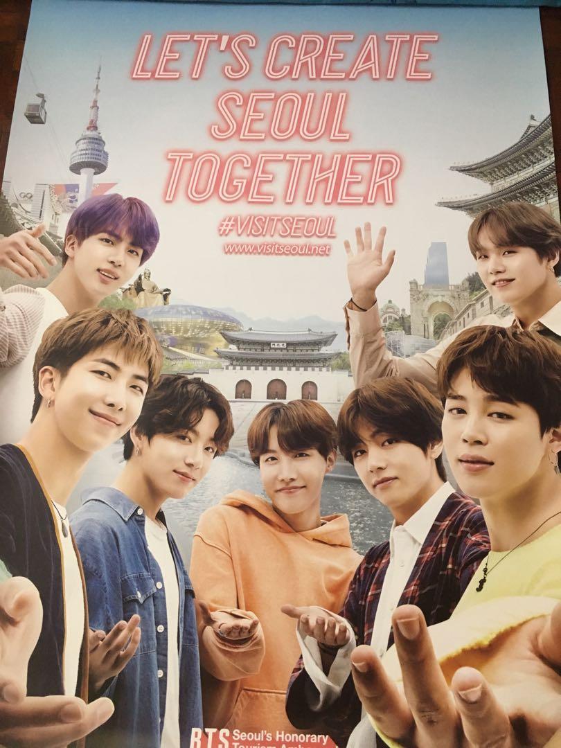 BTS @ I·SEOUL·U poster