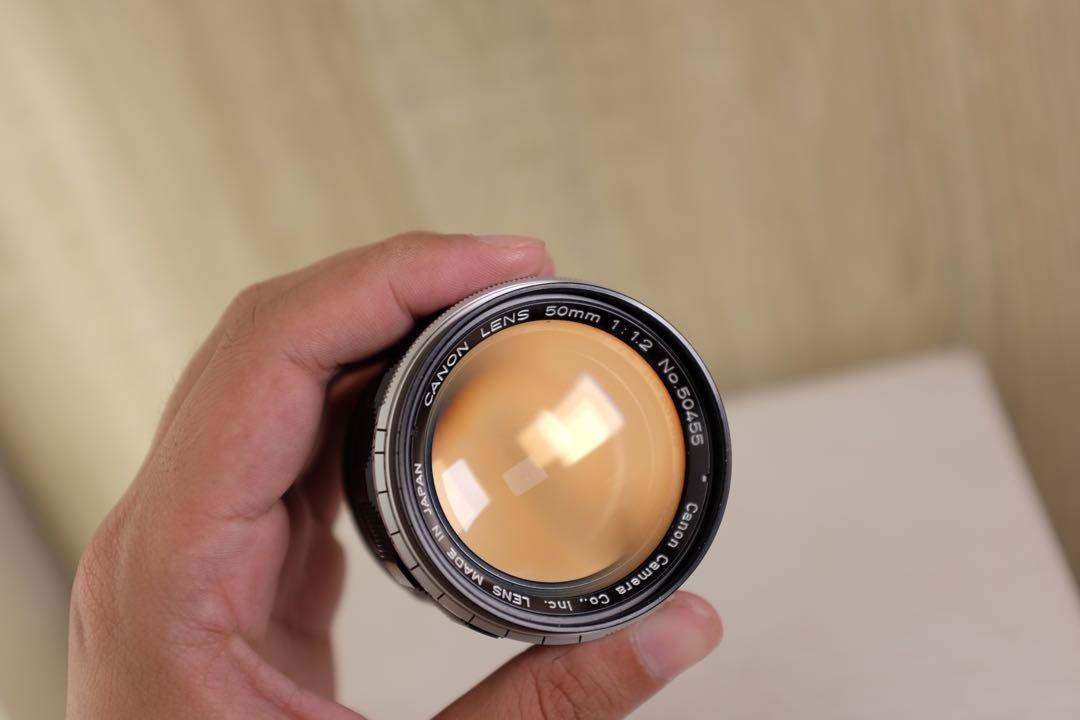 Canon 50mm f1.2 ltm Bonus Adapter K&F for Sony