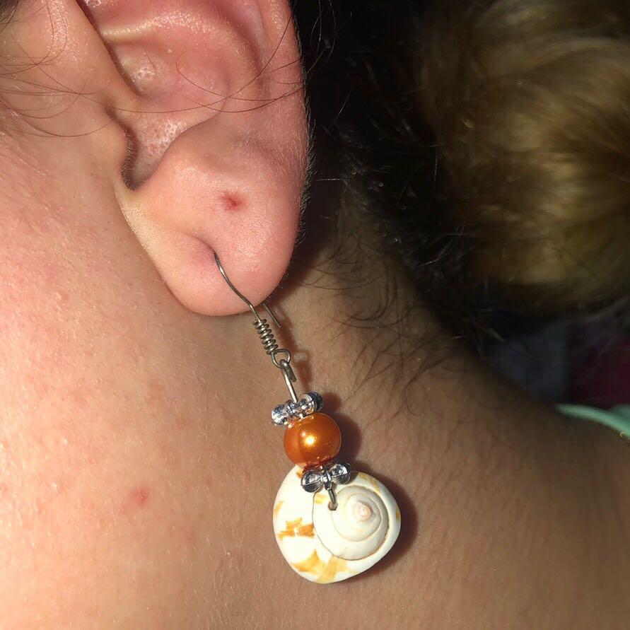 Dangle Shell Earrings