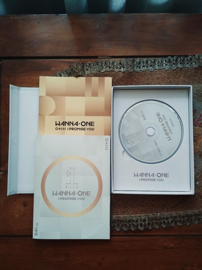 Preloved Album Wanna One I Promise You Day Version