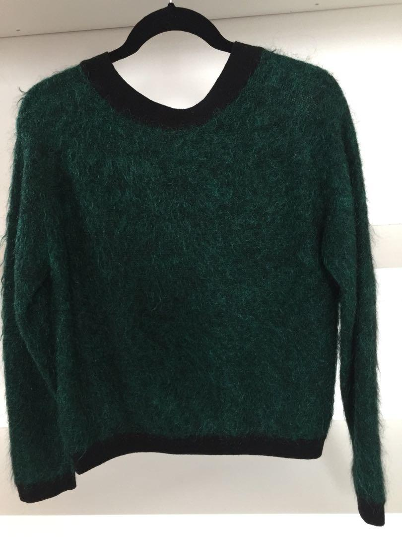 DKNY - Emerald Green Jumper - Size 10/12
