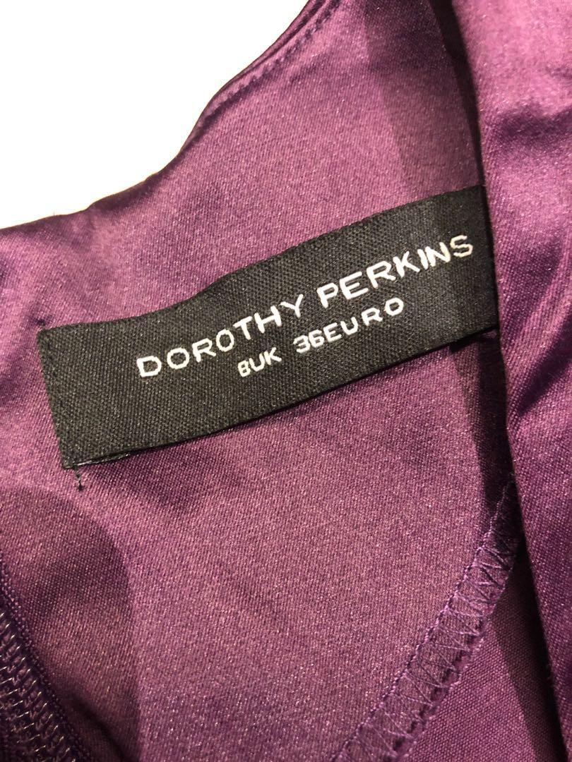 Dorothy Perkin Purple Dress