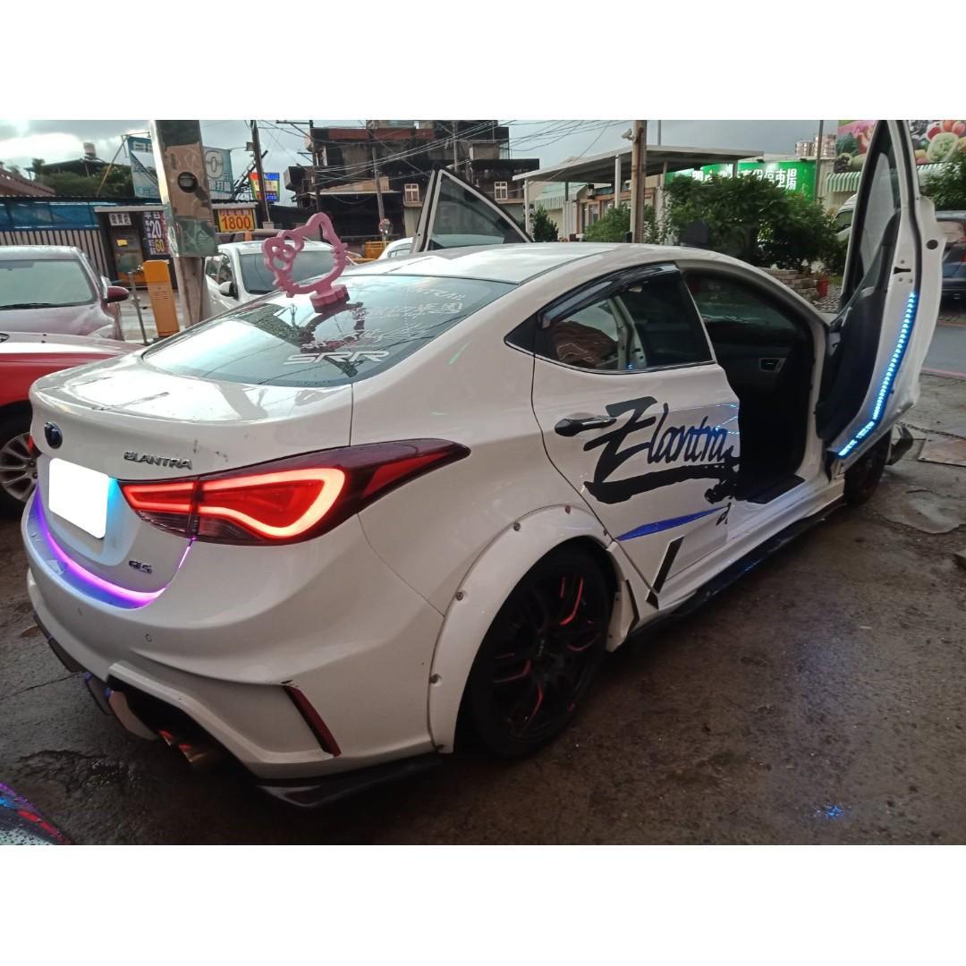 【FB搜尋桃園阿承】現代 超人氣ELANTRA EX 2016年 1.8 白色 二手車 中古車