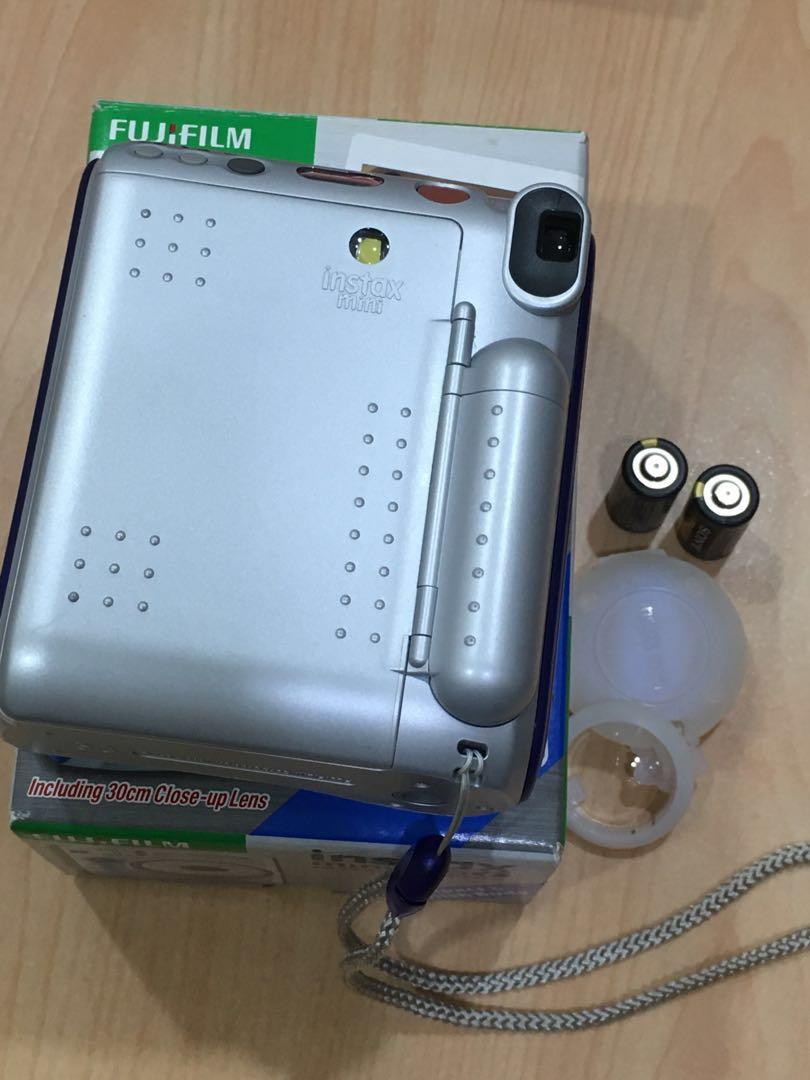 【FUJIFILM 拍立得】 mini 55 附電池 自拍鏡貼