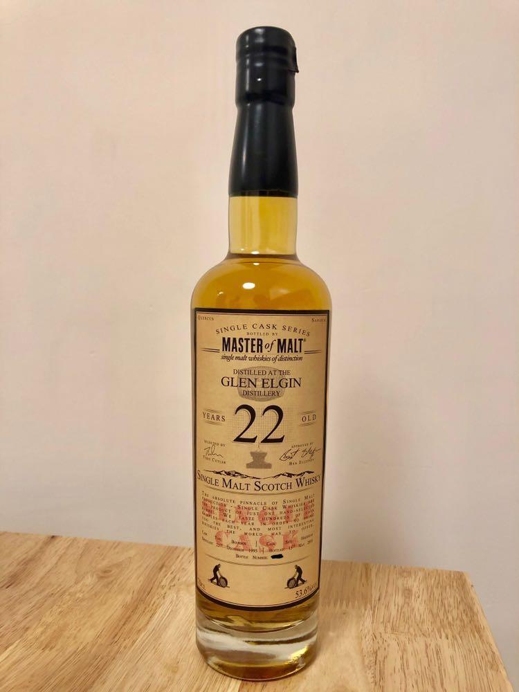 Glen Elgin 1995 Master of Malt 22yo 威士忌 Whisky
