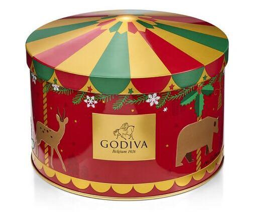 Godiva聖誕版朱古力禮盒