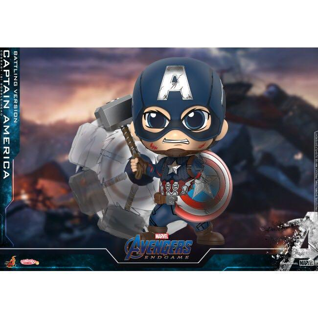 Hottoys Cosbaby Captain America