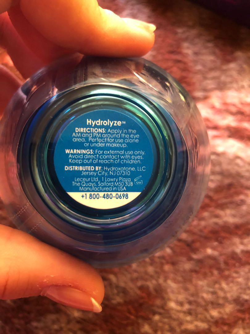 Hydroxatone Hydrolyze Intensive Under Eye Treatment NEW IN PACKAGING SEALED
