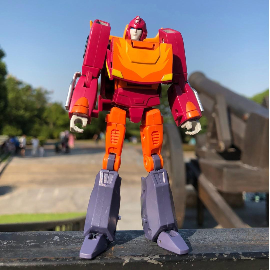 Transformers PAPA TOYS PPT-04 Hot Rod in Stock
