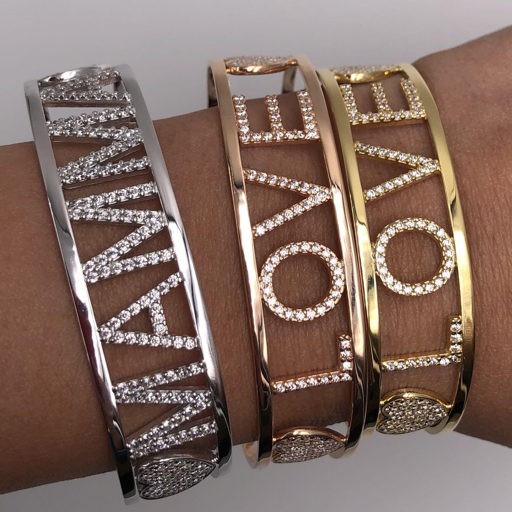 Italian Handmade Name Bracelets