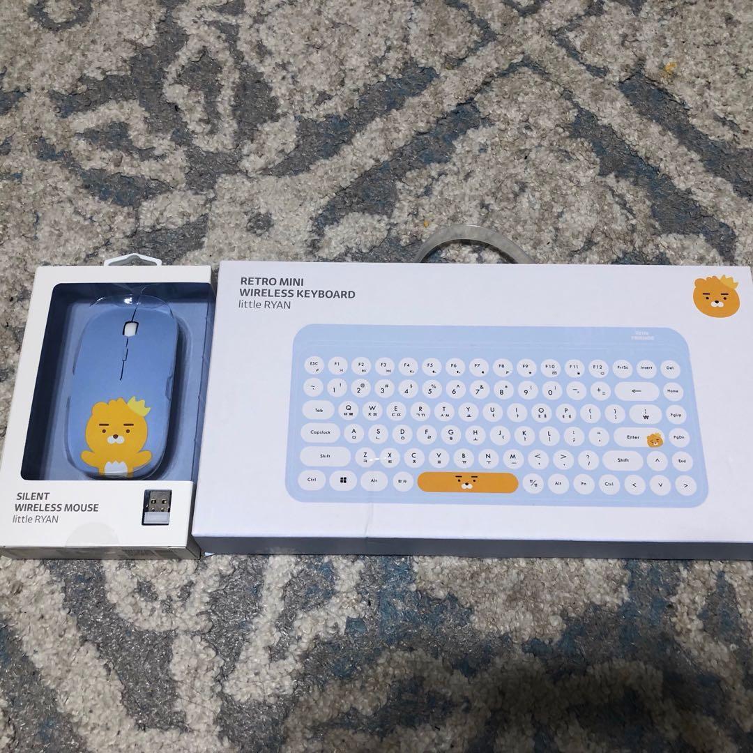 Kakao friends 無線鍵盤滑鼠