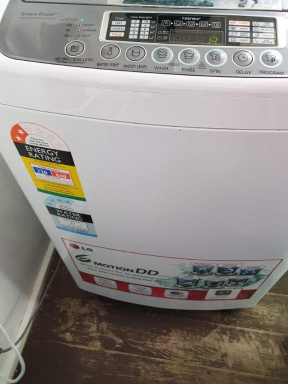LG  7.5kg Top Loader washing machine smart drum technology