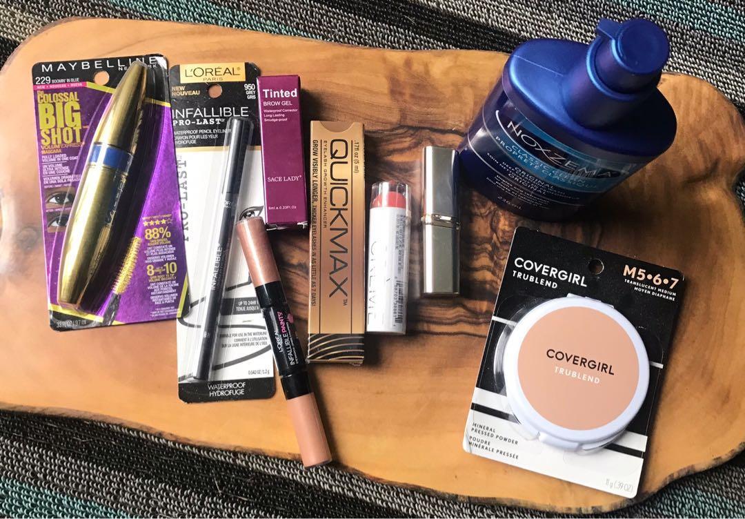 Make Up Skin Care Cosmetics Lot NEW Sealed Items Fresh
