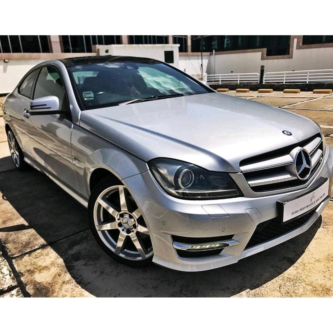Mercedes-Benz C250 Sport Coupe Auto