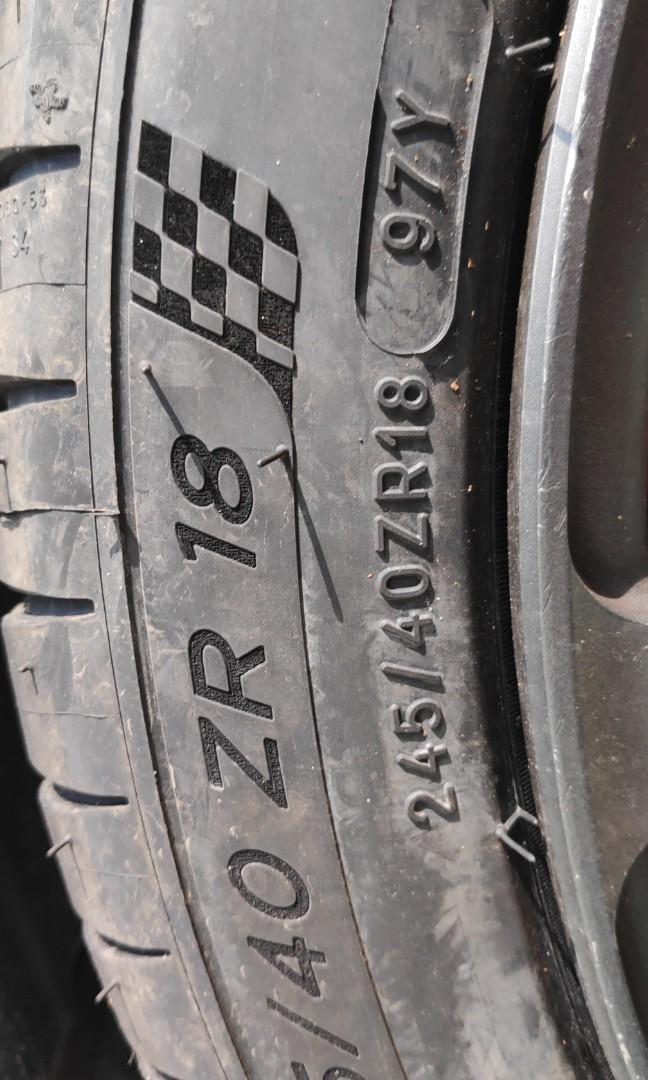 michelin 245/40r18 ps4 new 2019stock