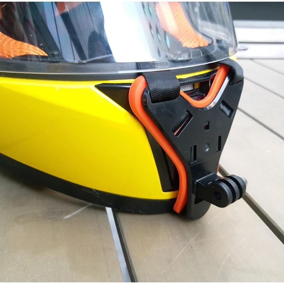 Motorcycle Helmet Front Chin Mount Holder Bracket For GoPro Hero 7/6/5 Camera