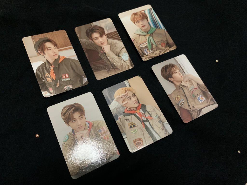 NCT DREAM OFFICIAL WITHDRAMA POB SUMMER VACATION KIT PC.