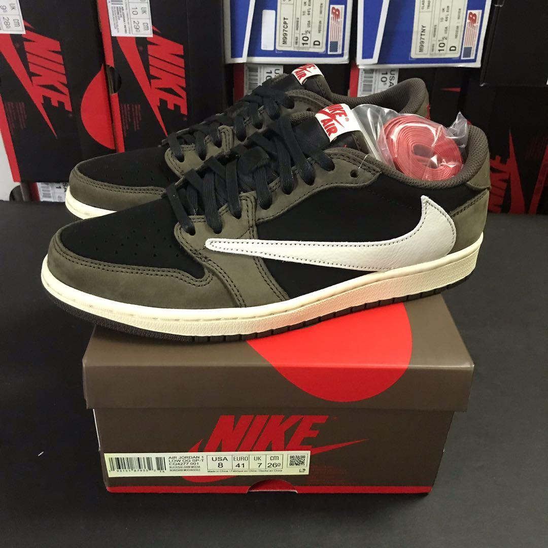 Nike x Travis Scott Air Jordan 1 Low OG TS SP size US 8