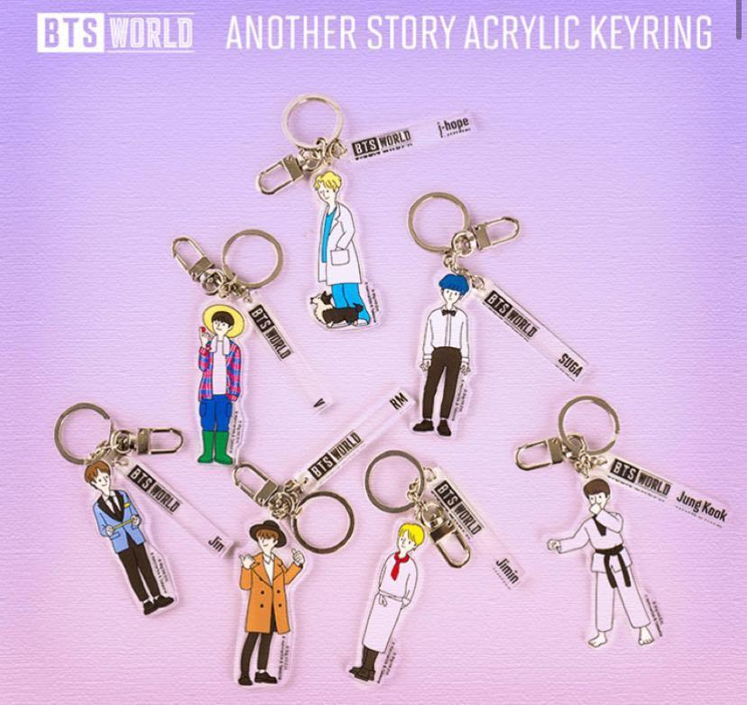 [OFFICIAL] BTS WORLD 2ND MD ANOTHER STORY ACRYLIC KEYRING