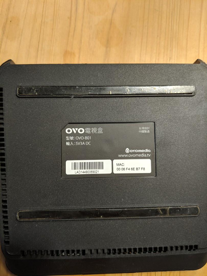 OVO B01 4K 電視盒 Android TV(降價)