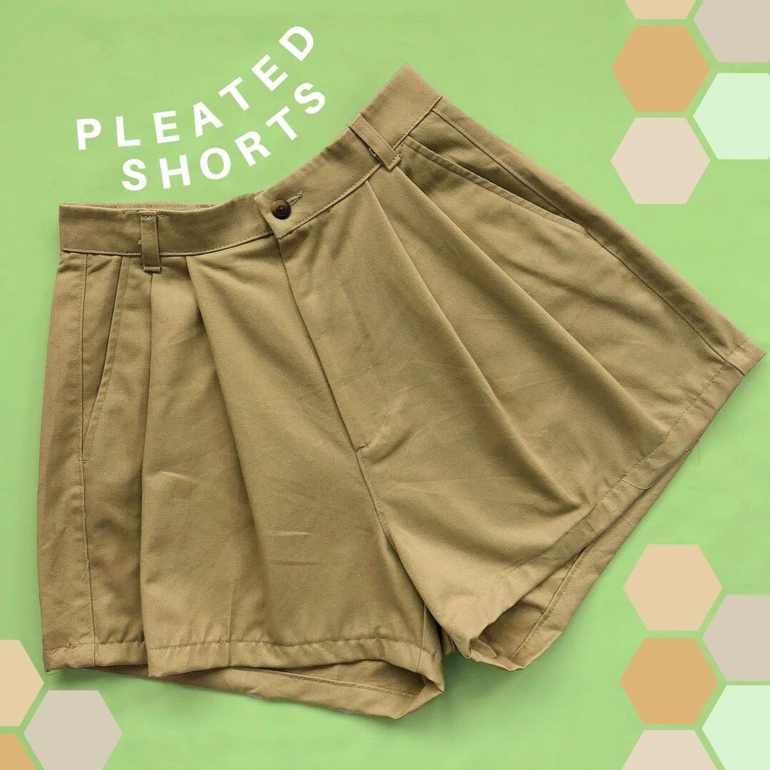 Pleated Shorts Mystery Bag