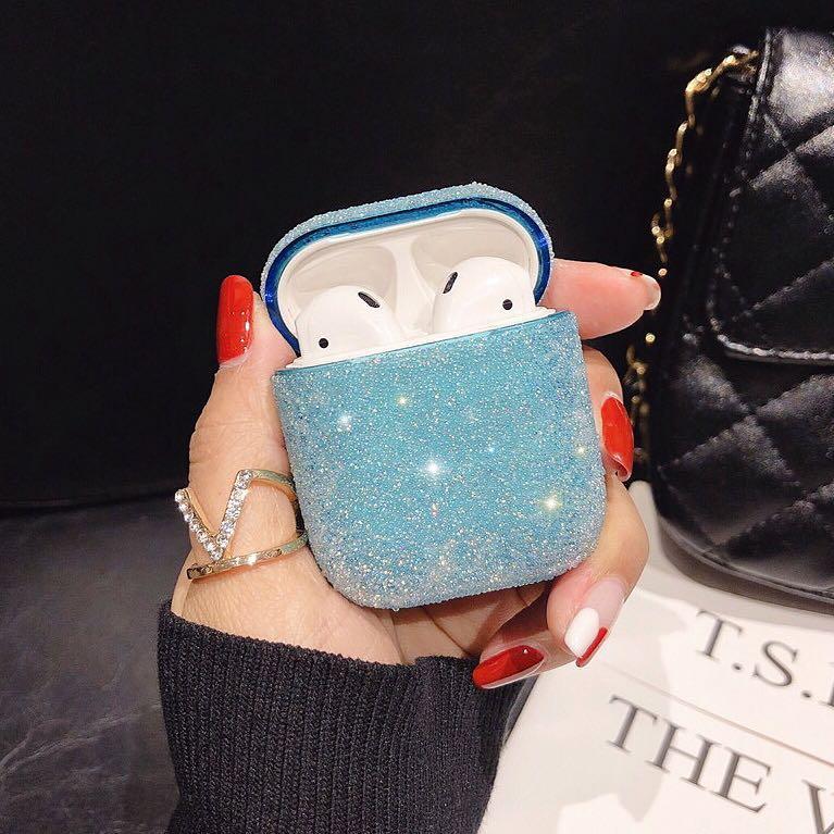 [PO] Classy Glitter Bling Apple AirPods Case